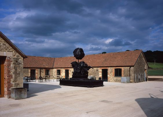 Hauser & Wirth's Somerset gallery is housed in old farm buildings