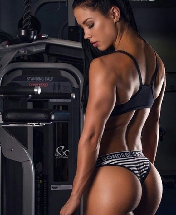 Female sexy fitness