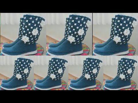 Sandalia Tejida, Zapatos Sandalias, Babuchas Tejidas, Pantuflas, Zapatillas, Blusas, Suela Crochet, Zapatos Tejidos A Crochet, Calzado Tejidos