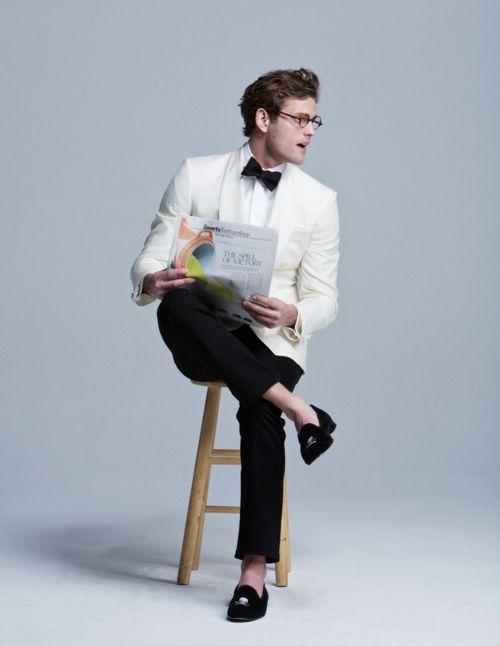 White jacket no socks - White Jacket No Socks Men's Shoes Pinterest Dinner Jackets