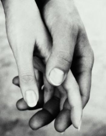 The spaces between your fingers were meant to be filled with mine:
