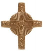 Kreuz Labyrinth - Ich bin der Weg