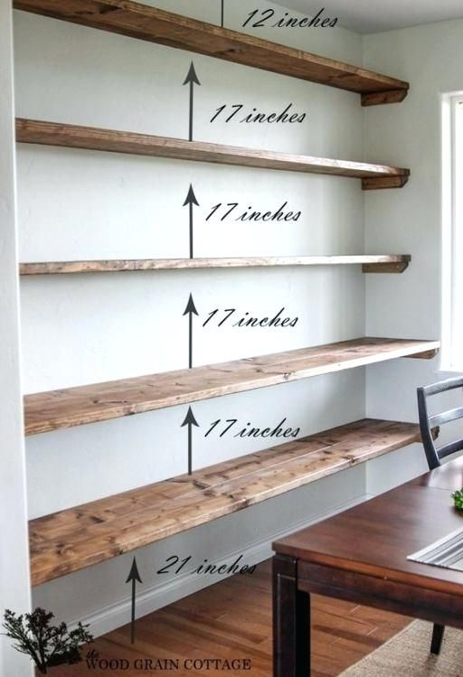 Long Wall Shelves For Books Shelves Easy Floating Shelves For Bookshelves And Home Decor Ideas Large Wall Zwevende Planken Diy Zwevende Boekenplanken Thuis Diy