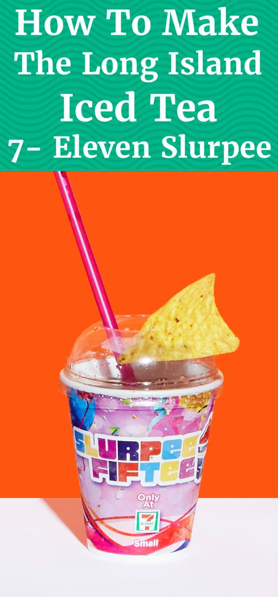 Ladies and gentlemen, in honor of the 7-Eleven's Free Slurpee Day, Supercall presents the Long Island Iced Tea Slurpee. You're welcome, America.