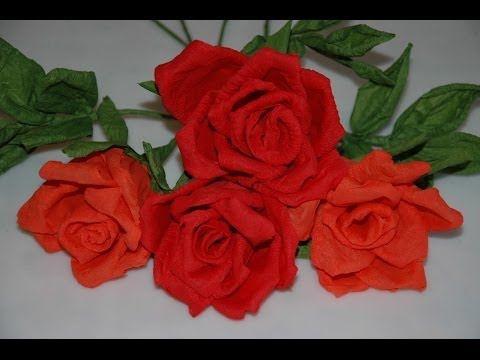 Youtube Paper Flowers Tutorials