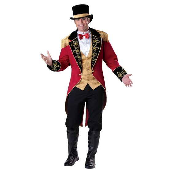 Costume and Party SuperCenter Ringmaster Costume - Mens (74716)