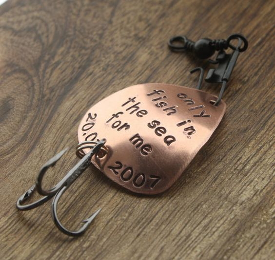 Pinterest the world s catalog of ideas for Engraved fishing lures