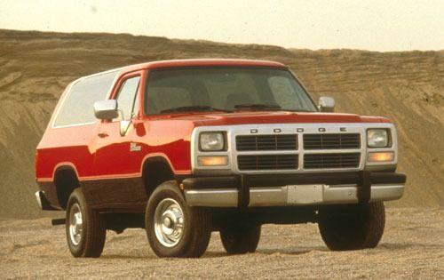 1991 Ramcharger Suv Dodge Ramcharger Old Dodge Trucks Dodge