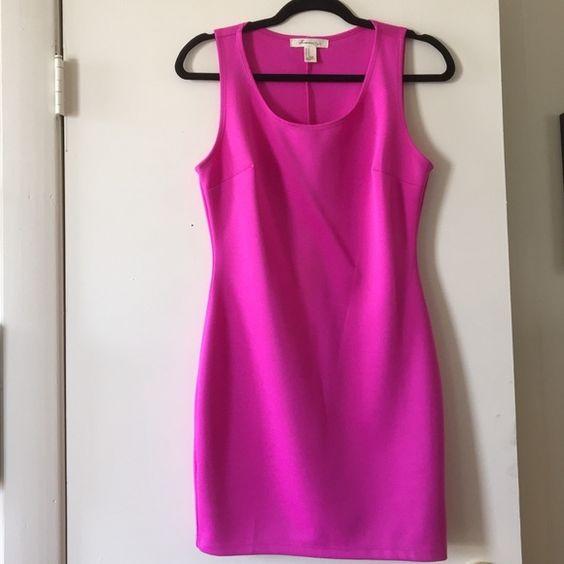 Forever 21 hot pink bodycon dress. Medium Forever 21 hot pink bodycon dress. Medium Forever 21 Dresses Mini