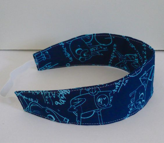 Adventure Time Math Headband by PumpkinCoachBoutique on Etsy