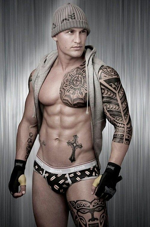 gay muscle tattoo
