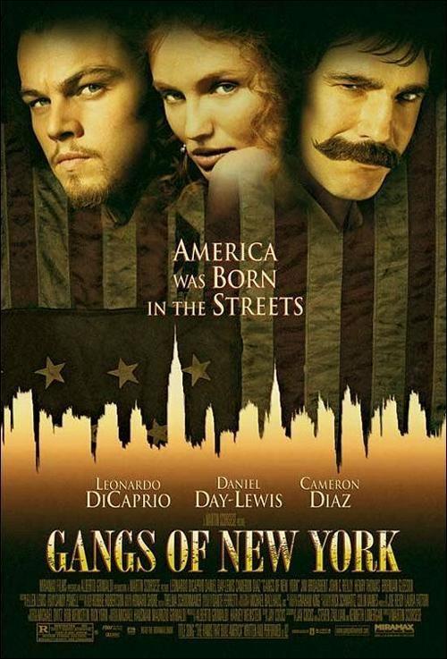 Pandillas De Nueva York 2002 5 Pandillas De Nueva York Cartel De Nueva York Peliculas