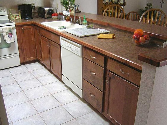 Laminate Countertops Countertops And Wood Trim On Pinterest