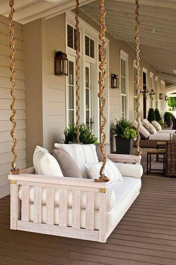Balanço na varanda.
