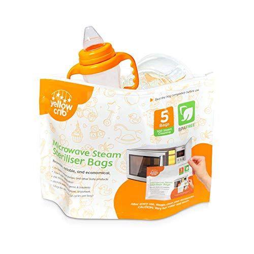 Microwave Steam Sterilizer Bag 5 Pcs