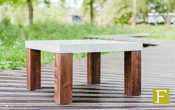 Pinterest de idee ncatalogus voor iedereen - Concrete effect tafel ...