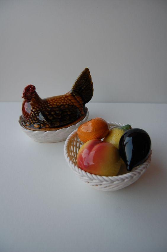 Piezas de cerámica- ON SALE + info en www.eldoblaodelabuela.com