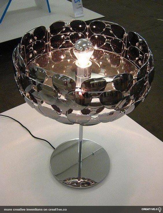 sunglasses lamp shade - creative inventions