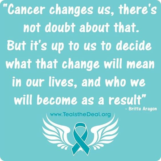 Cancer Sucks Quotes: Ovarian Cancer Awareness
