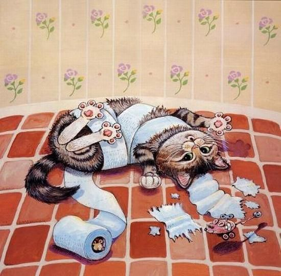 Funny Cats by Gary Patterson:
