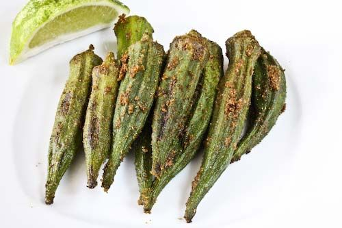 Easy and excellent...Oven Roasted Okra: