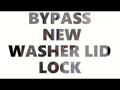 How To Bypass Annoying New Washer Lid Locks Fix For 0 Whirlpool Kenmore Roper Admiral Youtube Kenmore Washer Amana Washer Appliance Repair