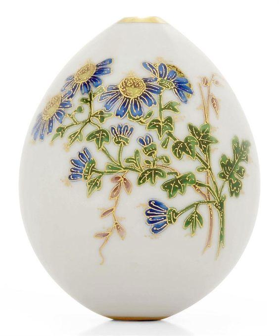 Precious Russian porcelain Easter Eggs - easter-eggs Photo