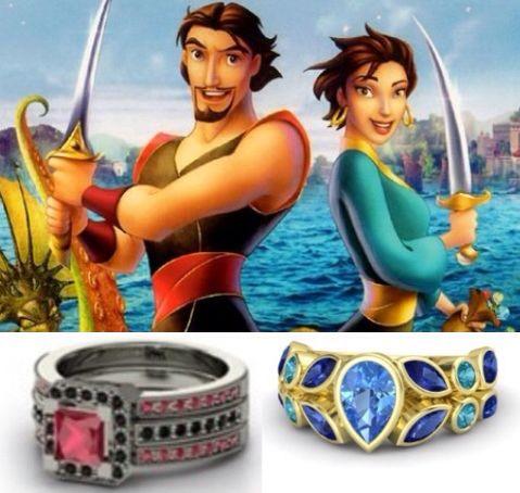Sinbad & Marina rings
