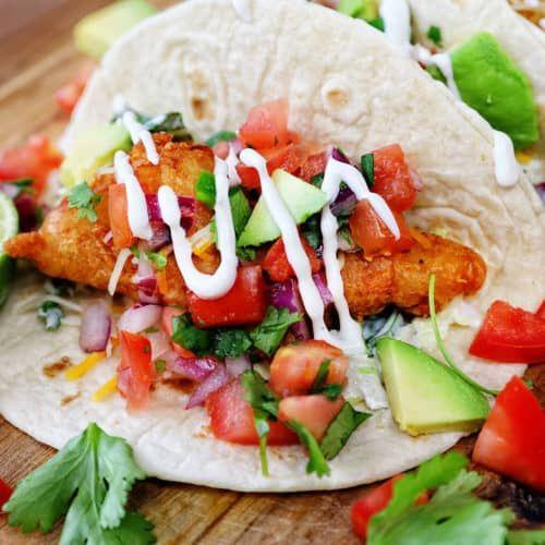 Baja Fish Taco Recipe I Am Baker Baja Fish Tacos Fish Tacos Recipe Baja Fish Taco Recipe