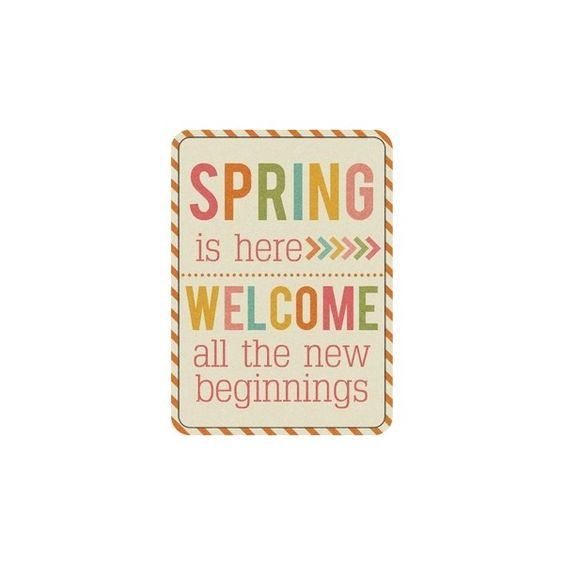 Spring Fling Memory Keeping ❤ liked on Polyvore