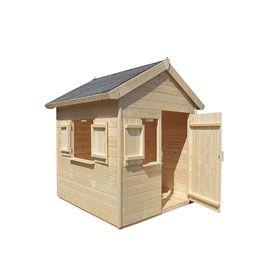 maisonnette en bois janaka casto 179 jeux jardin. Black Bedroom Furniture Sets. Home Design Ideas