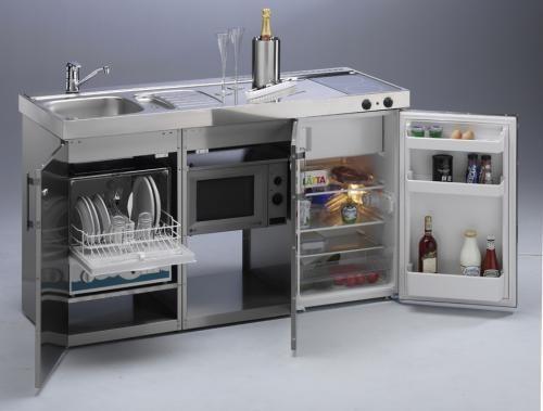 Minicocinas Limatec Los Nuevos Modelos Cocinas Para Espacios Pequenos Decoracion De Departamentos Pequenos Muebles Para Departamentos Pequenos