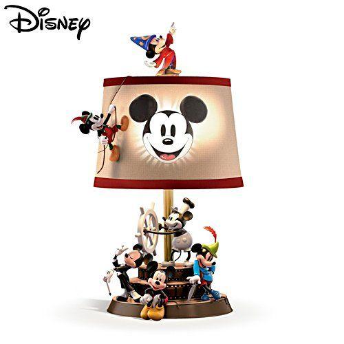 Durch Die Zeit Mit Micky Maus Tischleuchte Disney Dekorationen Disney Schlafzimmer Micky Maus