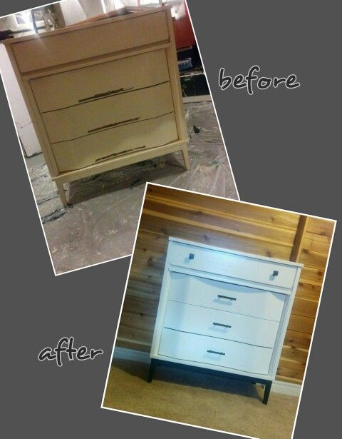 Refinished Freebie Dresser