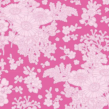 Imogen Pink 100023 100/% Cotton Patchwork Quilting Tilda Sunkiss
