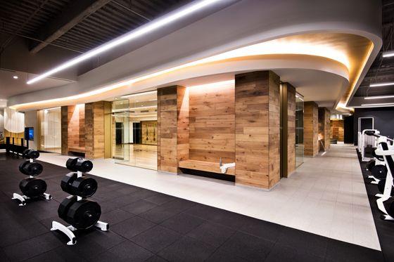 Pumped Gyms That Flex Their Design Muscle Gym Design Interior Equinox Gym Gym Interior