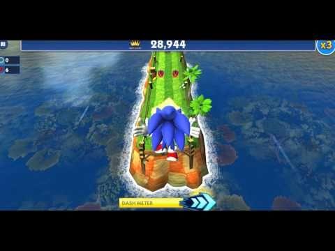 Sonich Dash ★ New High Score ★ Sonic Dash Part 2