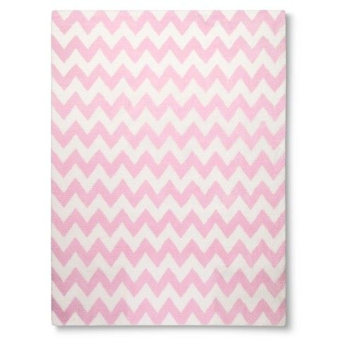 Circo Chevron Rug Nursery Pinterest Pink Area Rugs