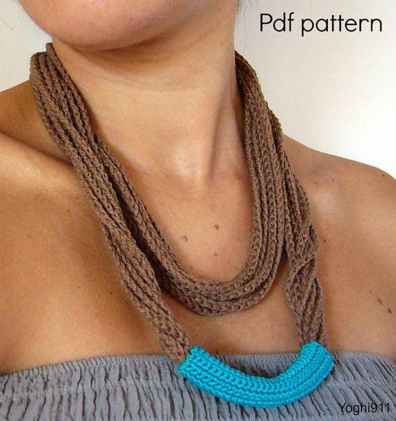 ... crochet patterns chains crochet necklace crochet patterns necklaces