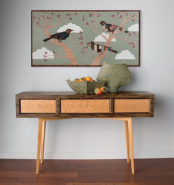 Cherry Tree Collection by Dolan Geiman: Mixed-Media Wall Art available at www.artfulhome.com