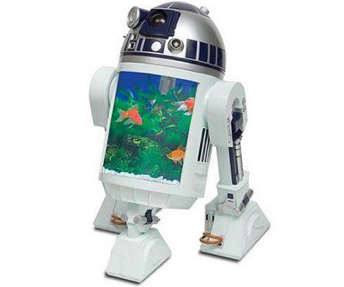 R2-D2 Aquarium with built-in periscope