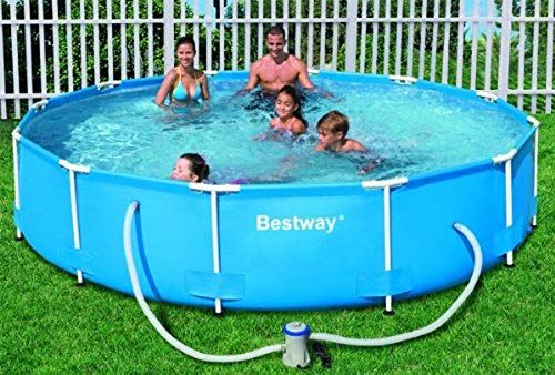 Amazon Com Steel Pro 12 X 30 Frame Pool Set Garden Outdoor Best Above Ground Pool In Ground Pools Above Ground Pool