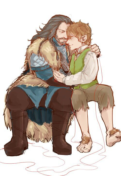 compare and contrast bilbo and thorin Tags creator chose not to use archive warnings bilbo baggins/thorin oakenshield kíli (tolkien)/tauriel (hobbit movies) minor or background relationship(s.