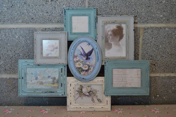 Vintage Style Collage Multi Photo Frame from Home Graces