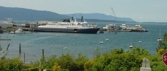The Alaska Marine Highway Ferry System Terminal In Bellingham Washington