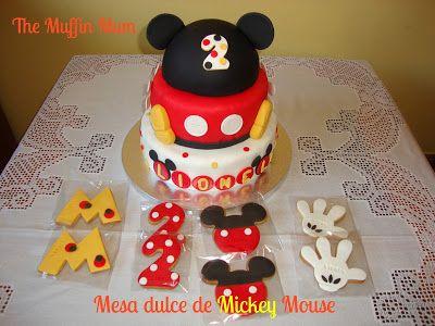 The Muffin Mum: Mesa dulce Mickey Mouse