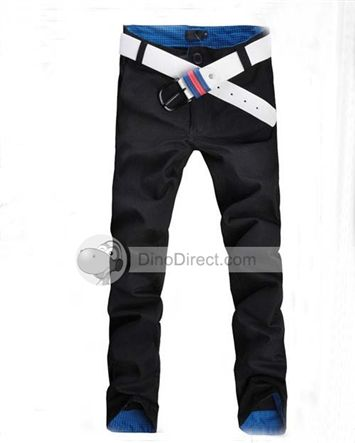 YW® Korean Chic Style Cotton Low-Waist Leisure Men Pants