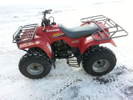 2005 kawasaki bayou 220 4 wheeler red for sale in alpena mi atv pinterest for sale. Black Bedroom Furniture Sets. Home Design Ideas