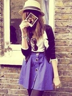 Vintage girl fashion wallpaper
