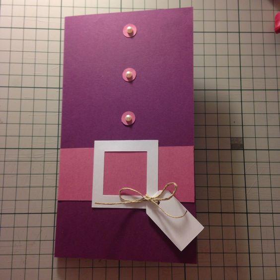 Carte porte chèque fille  Made by Lyly